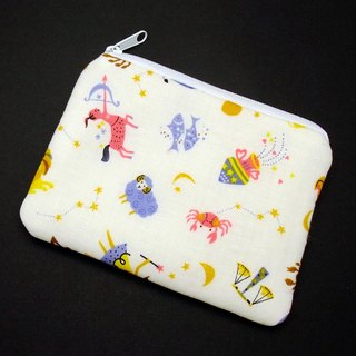 Zipper pouch / coin purse (padded) (ZS-183)