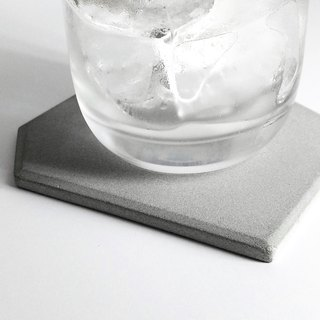 B geometry cement coaster cement storage mat