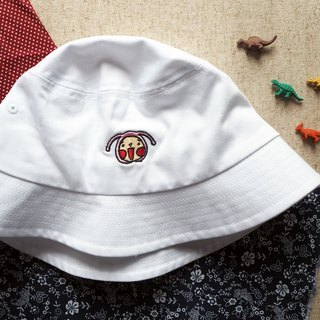 HoHo Embroidered Hat (White)