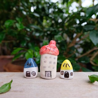 Tiny village ceramics