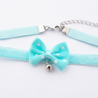 Pretty bow velvet choker