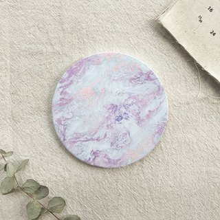 Philosophy (Romantic Violet) - Ceramic Absorbent Coaster