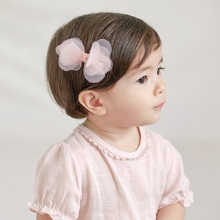 Happy Prince Coenne Baby Girl Chiffon Bow Hair Clip Korean Made