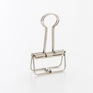 Binder Clips Silver Simple Hollow Clip / M