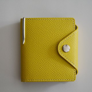 Culioro LEATHER MEMO COVER and PEN M Yellow
