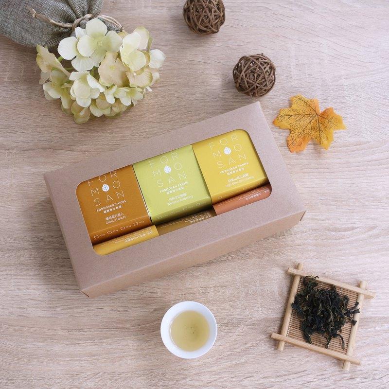 Formosan Farms/ Four Seasons/金秋送財/ 全茶葉禮盒