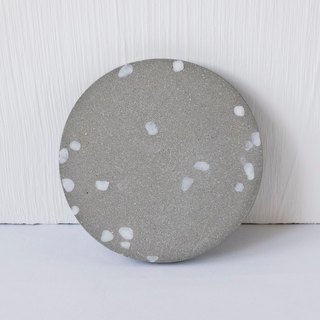 No view room │ white grinding lime cement coasters