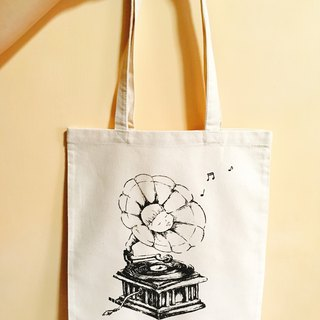 Fat sister phonograph canvas bag