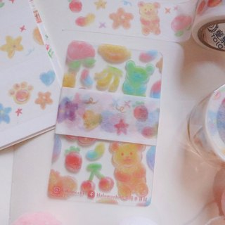 Sweet Collection │ Gummy Paper Tape Recycled