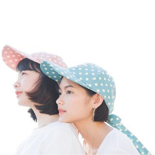 ||Long Hat Cap || Blue Green