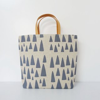 Screen printing Tote bag forest