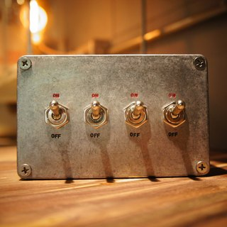 Edison-industry retro / industrial wind / LOFT / industrial switch / supreme / four open