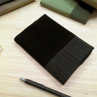 Junior A6 clothes - black cloth book (the only commodity) B04-022