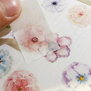 Washi Tape Flowers