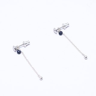Starry Night Silver Earring