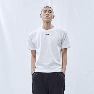 DYCTEAM Basic Series | Embroidery Logo Tee(WH)