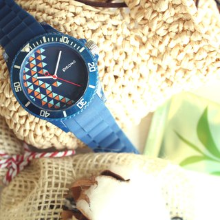 【PICONO】POP Circus Sport Watch - Happy Bird(Blue) / BA-PP-01