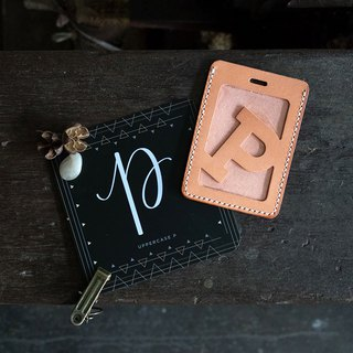 Alphabet Card Holder。Lanyard Version O-T