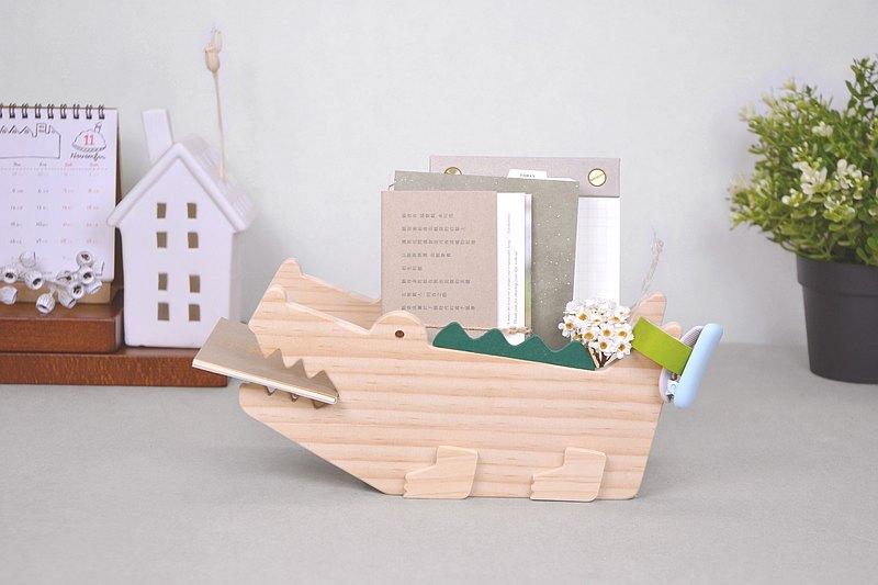 【預購】DIY鱷魚置物盒