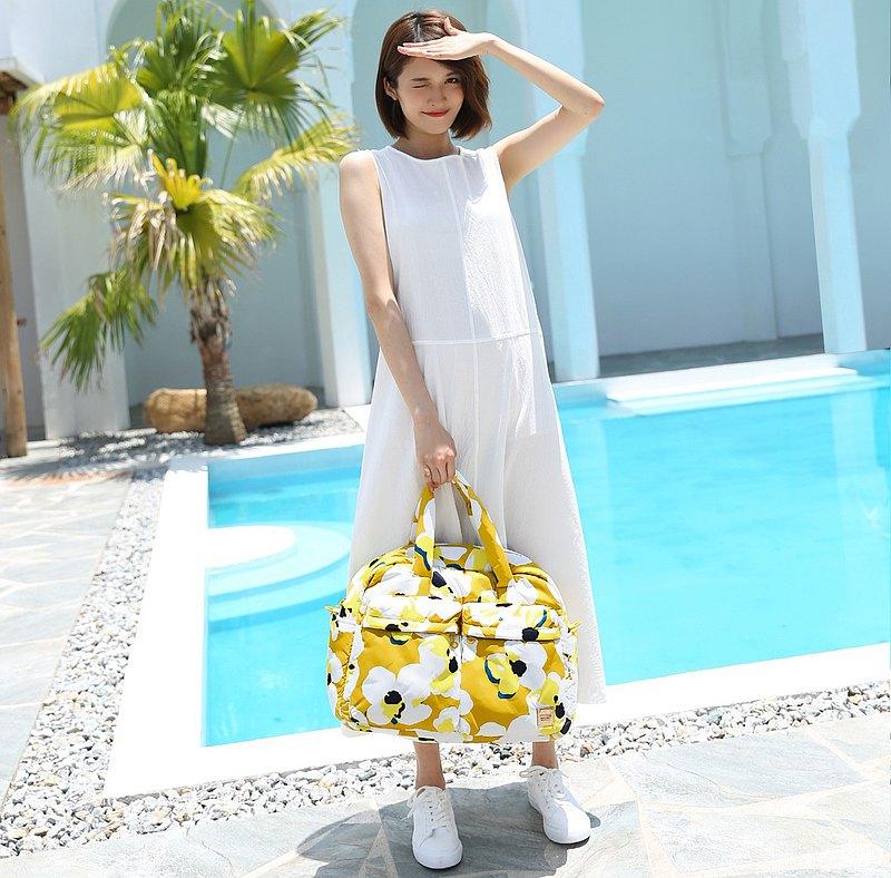VOVAROVA 防潑水週末旅行袋  - 希望之花