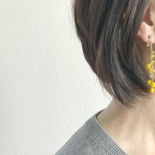 Mimosa(earrings)