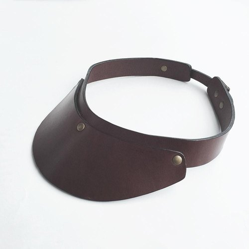 Tochigi leather sun visor