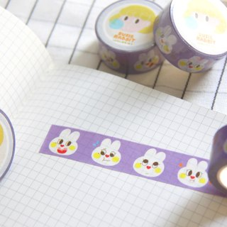 Lovely rabbit masking tape