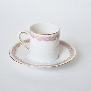 German antique tea cups and a small group B