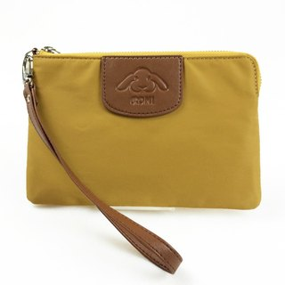 [Carry] Clutch - mustard yellow clutch / purse / lightweight bag / Mother's Day Preferred