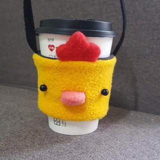 Chicken drink cup/bag