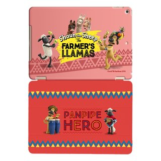 "Smiled sheep genuine authority (Shaun The Sheep) -iPad crystal shell: [Samba] enthusiasm ""iPad Mini"" Crystal Case (Red) + Smart Cover magnetic pole (red)"