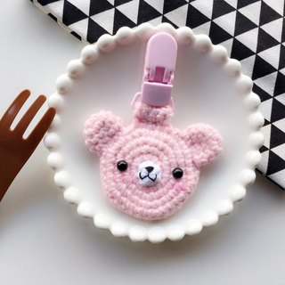 chuchu hand-made bear paragraph baby safety bag baby amulet set peace Fu safe character folder
