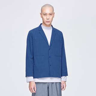 TRAN - Large pocket suit collar work jacket