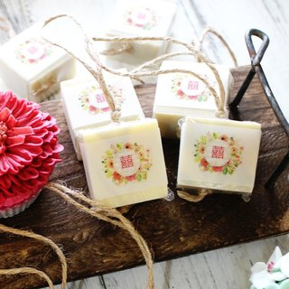 [Lei An Bai handmade soap] favorite hand soap - single soap. Wedding small things │ washing soap string │ natural handmade soap │ corporate gifts │ activities small objects