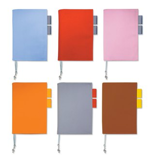 A5/25K multi-function book/book cover - two-color cotton cloth