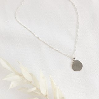 "Sterling silver necklace_23"" long chain【 Fabie 】"