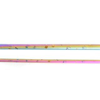 TiStraw Titanium Straw Set in Doctor Cat (8 mm & 12 mm)