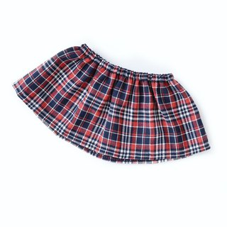 PK bears | Big Bear Plaid Skirt (Red (40cm Bear)