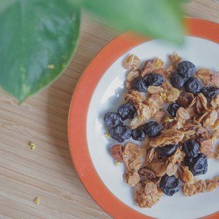 Blueberry Osmanthus Crunchy Oatmeal