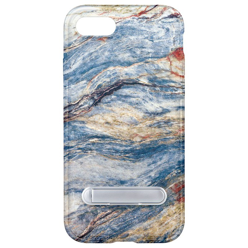 Blue marble hidden magnet bracket iPhone 8 7 6 plus mobile phone case phone case
