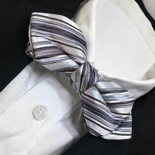 multi regimental bow tie 剣先タイプ