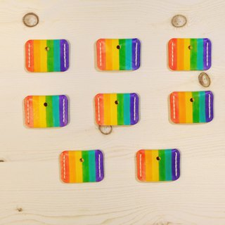 Sanku - Leather Handmade - Rainbow Key Case