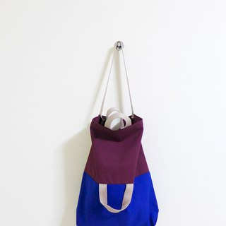 I am Yours Series Symbiotic tote bags (purple blue)