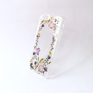 Step by step flower (sister version) :: charge hand to do IPHONE phone shell pressed flower phonecase