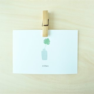 Greenery Postcard/Card