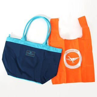 Tote (small). Dark Blue