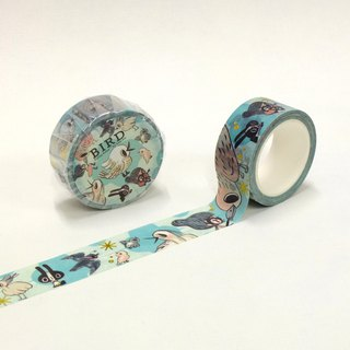 Paper tape MT#2 - [Female squirrel Su Fei series comics BIRD memory bird] MaskingTape