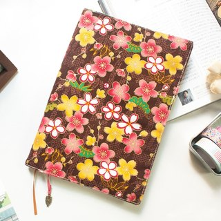 A5 / 25K adjustable multi-functional clothes book / cloth slipcase -A12 ground cherry