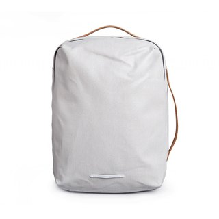 Canvas Series-13吋Three Classic Back Backpack (Back/Hand/Shoulder)-Milk Grey-RBP270GY