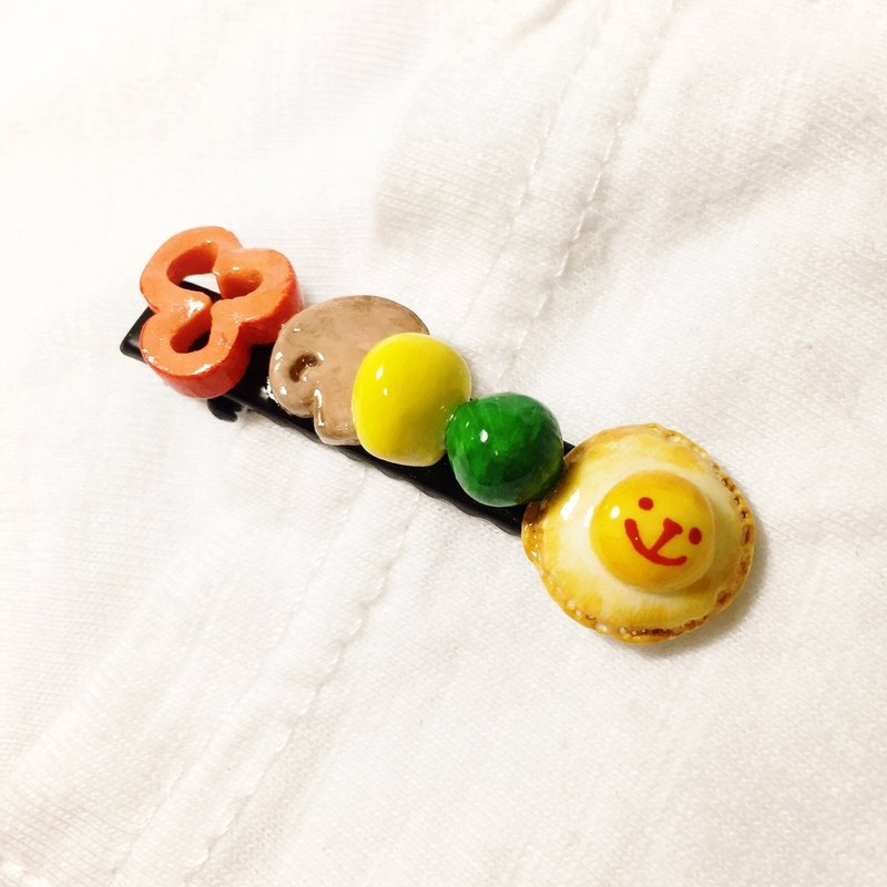Not picky eaters vegetables series hairpin ((over 600 were sent mysterious small gift))
